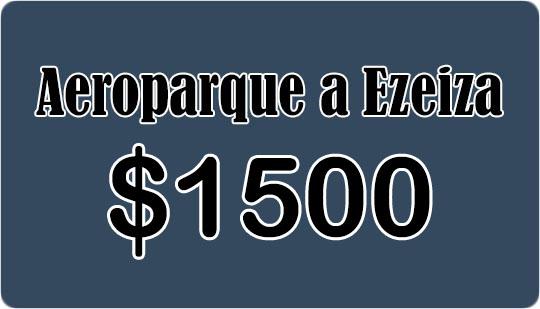 Aeroparque a Ezeiza 07-12-2019